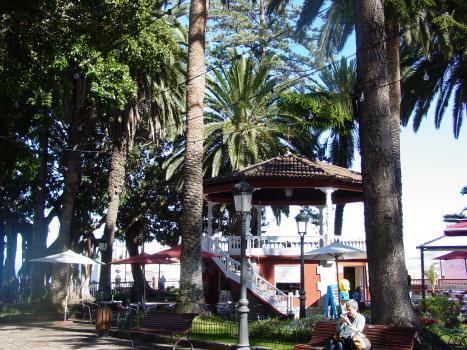 Quiosco plaza Lorenzo Caceres